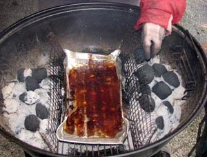 Adding charcoal every hour