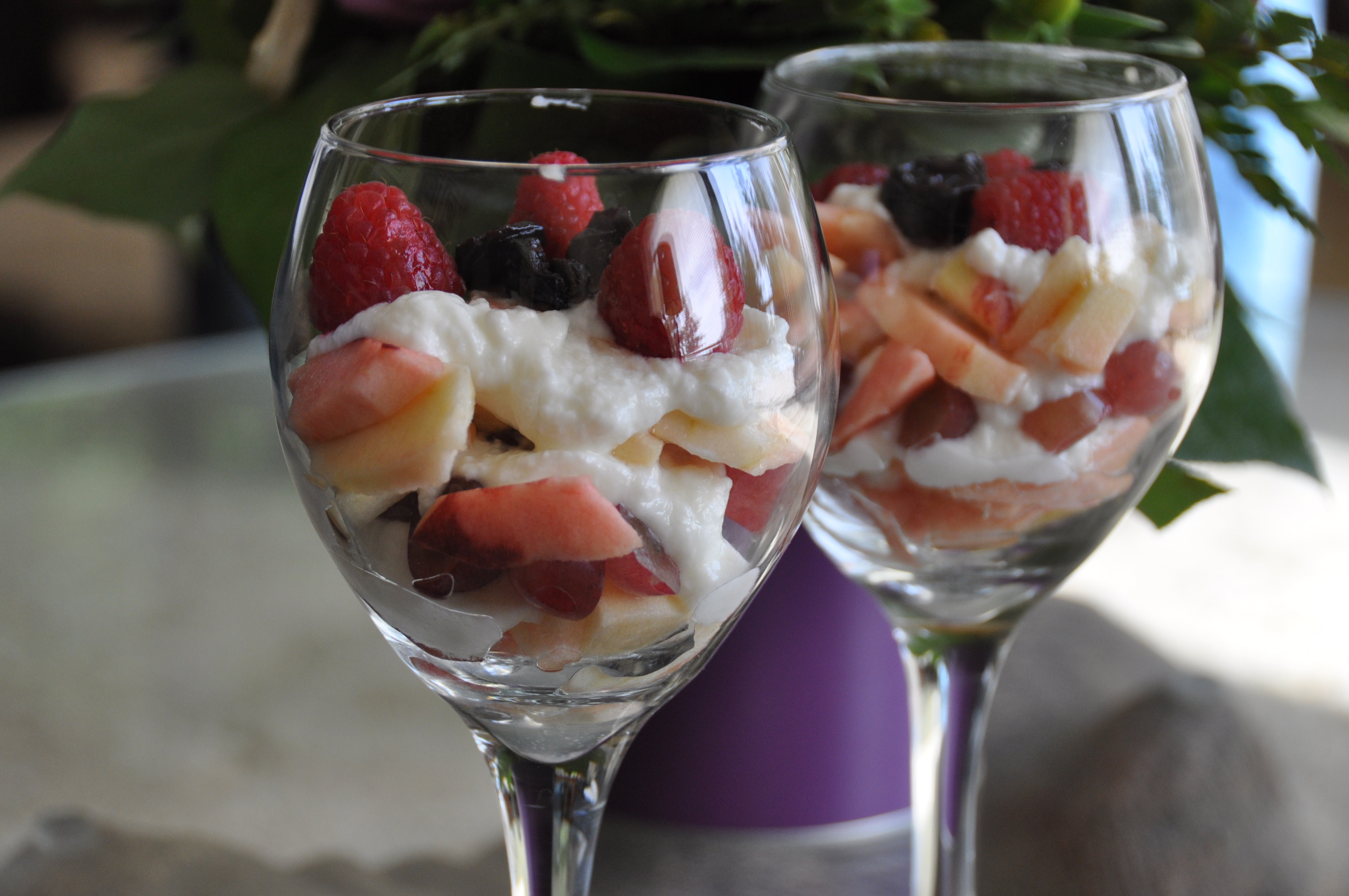 two parfaits