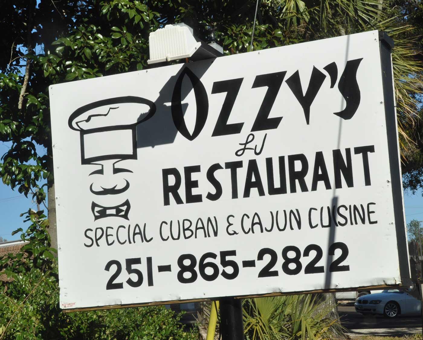 Ozzy's LJ Restaurant